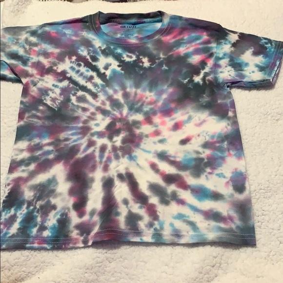 Gildan Shirts Tops New Homemade Tie Dye Shirt Gildan S Youth Poshmark
